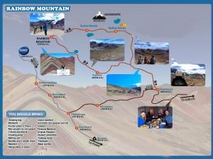 map rainbow mountain